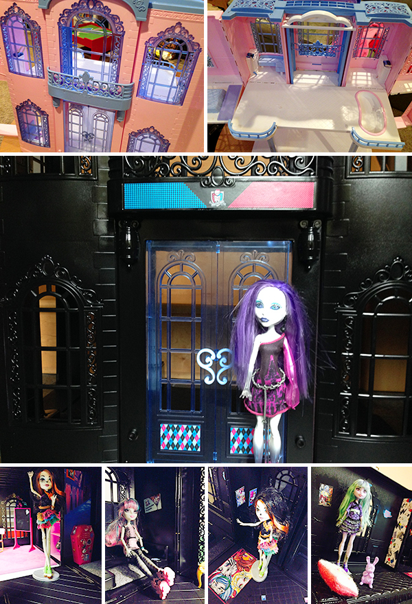 Monster High School Barbie Repurpose